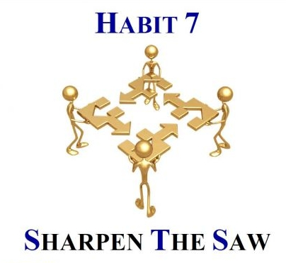 habit 7 sharpen the saw k k club 2017